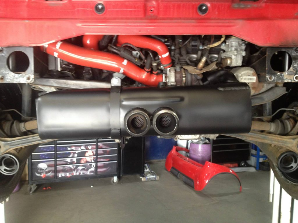 red edition brabus exhaust