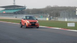 new smart 453 at silverstone 1
