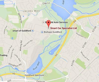 Google Map Smart Car Specialist1