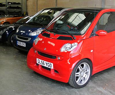 Smart Car Sales Showroom1